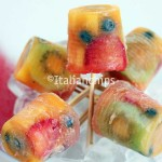 Fruit Popsicles, 33 Calories, Perfect For Summer Hot Days