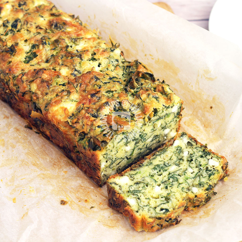 A Super Easy Spinach Cake